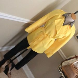 Isaac Mizrahi for target yellow trench extra small